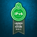 IPv6 launch banner (made by Internet Society)